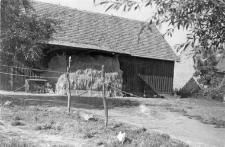 Half-timbered barn