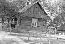 New wooden cottage