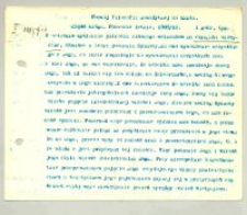 Rozwój filozofii nowożytnej do Kanta. 1. Cz. I. Zima 1909/10 1 godz.[ina] tyg.[odniowo]
