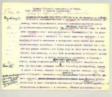 Rozwój filozofii nowożytnej do Kanta. 2.Cz. II Lato 1909/10. 1 godz.[ina] tyg.[odniowo]