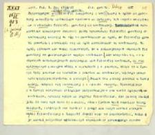 "Cz. I. Zima 1912/13. 3. Filozofia grecka"" od początku do V w. p.n.e. (Leucyp)"