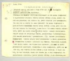 """Sceptycyzm etyczny : Lato 1914"""".Rok akademicki 1913/14. Treść siedmiu wykładów od 7 maja 1914 r. do 4 czerwca 1914 r."""