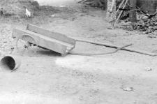 Manually pulled cart