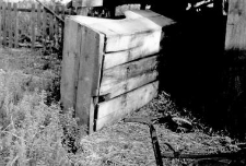 A chest for a sleigh