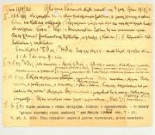 Główne Kierunki etyki naukowej : 4 godz.[iny]. Zima 1919/20 r.