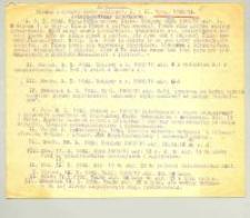 """Główne kierunki etyki naukowej : I i II Trym.[estr] 1923/24. Cztery godziny tygodniowo"""".Plan i zagadnienia 77 wykładów od 1 października 1923 r. do 26 marca 1924 r."""