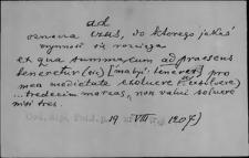 Kartoteka Słownika Łaciny Średniowiecznej; ad - adhaereo