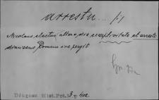 Kartoteka Słownika Łaciny Średniowiecznej; arrestum - asperitas