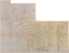 KZG, V 15 B D, 20 A B C D, plan archeologiczny wykopu
