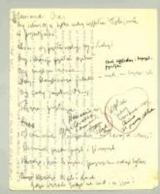 Główne Zasady Nauk filozoficznych : Wykład dwugodzinny, I. II. III. trymestr 1926/7. 3. Notatki i uwagi do wykładów