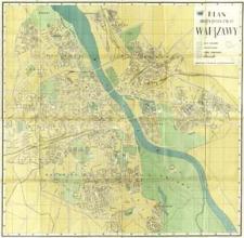 Plan stołecznego miasta Warszawy