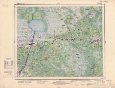 A 38 B 42 (S 31) Telechany : podziałka 1:100.000