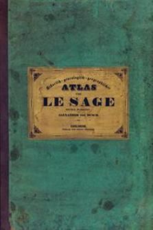 Historisch-Genealogisch-Geographischer Atlas von Le Sage Graf Las Cases