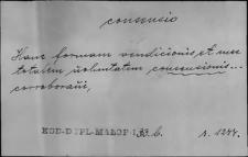 Kartoteka Słownika Łaciny Średniowiecznej; consensio - consolutio