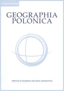 Geographia Polonica Vol. 93 No. 4 (2020), Contents