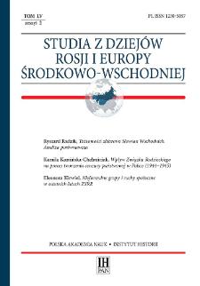 Tożsamości zbiorowe Słowian Wschodnich : analiza porównawcza