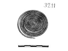 spirally twisted wire disc (Odolanów) - chemical analysis