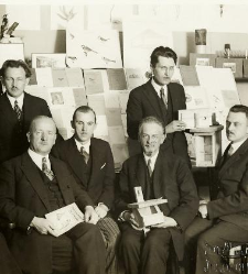 Zygmunt Mokrzecki with his cooperators