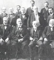 Parasitologues réunis a Monaco le 27 mars 1913.
