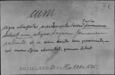 Kartoteka Słownika Łaciny Średniowiecznej; cum-curia