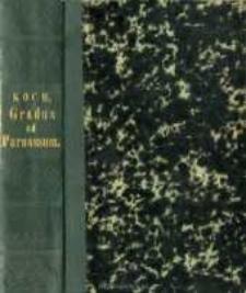 Gradus ad Parnassum : sive Thesaurus latinae linguae poeticus et prosodiacus. Vol. 1, A-I