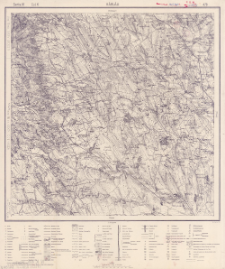 Hârlău, Seria IV Col. K : Maßstab 1:75.000