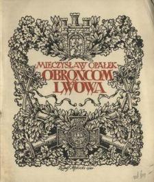 Pamiątki polskie. Z. 4, Odznaki obrońców Lwowa i Kresów Wschodnich