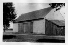 A brick barn