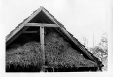A gable roof (plough structure)