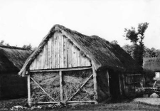 A barn - a structure of walls, a roof