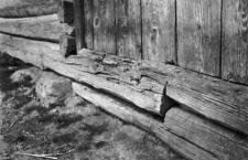 Złącz podwaliny w stodole