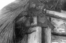 A rafter setting - a pillar