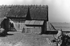 A fragment of a barn