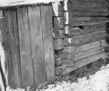 A log structure of a barn