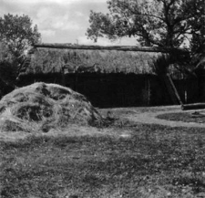 A log barn