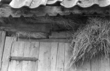Eaves joints in a barn