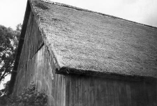 A roof of the barn