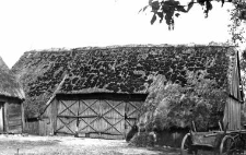 A barn with a