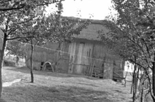 A barn, a structure of a roof