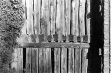 Fragment ściany stodoły