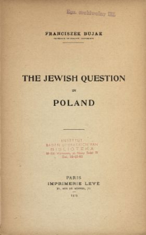 The Jewish question in Poland