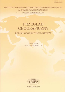 Warunki bioklimatyczne jako czynnik kształtujący potencjał rekreacyjny Sudetów = Bioclimatic conditions as a factor shaping recreational potential of the Sudetic Mountains