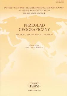 Przegląd Geograficzny T. 84 z. 3 (2012), Recenzje