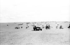 Nadom w somonie - panorama przybywających