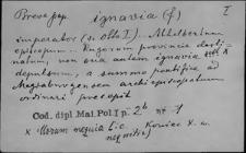 Kartoteka Słownika Łaciny Średniowiecznej; ignavia - imbuo