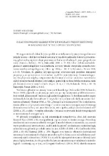 O zastosowaniu elementów etnografii przedtekstowej w badaniu instytucji opieki medycznej