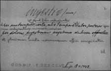 Kartoteka Słownika Łaciny Średniowiecznej; ingestio - iniurior