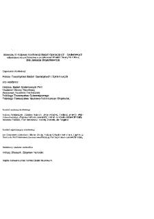 Modelowanie i komputerowe wspomaganie decyzji gospodarczych : III konferencja badań operacyjnych i systemowych BOS'93, 21-23 września 1993 * Przemiany makroekonomiczne * Optymalizacja przekształceń systemowych w Polsce (próba formalizacji)