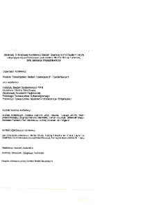 Modelowanie i komputerowe wspomaganie decyzji gospodarczych : III konferencja badań operacyjnych i systemowych BOS'93, 21-23 września 1993 * Bankowość * Modele procedur oddłużeniowych