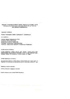 Modelowanie i komputerowe wspomaganie decyzji gospodarczych : III konferencja badań operacyjnych i systemowych BOS'93, 21-23 września 1993 * Bankowość * Wybrane aspekty działalności banków